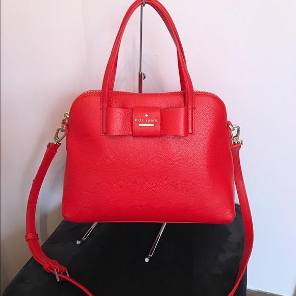 Kate Spade Bags Red Bow Maise Purse Poshmark