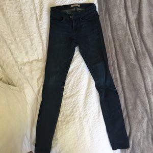 Jbrand Dark Blue Wash Super Skinny Jean