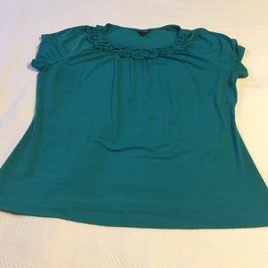 East 5th Tops - Turquoise Ladies Top