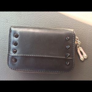Pretty Ballerinas Handbags - Leather wallet in black by Pretty Ballerinas USA