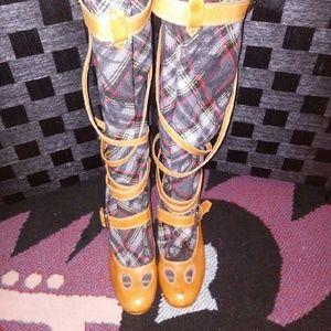 Vivienne Westwood Shoes - Leather Boots