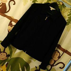 "Petite Sophisticate Jackets & Blazers - Black Vintage Waist Coat ""Petite Sophisticate"""