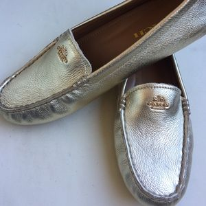 15d5507d701 Coach Shoes - NWOT Gold Coach Amber Loafers - 7
