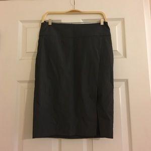 Express Gray Pencil Skirt Size 00