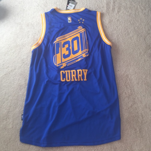 NBA Stephen Curry Jersey XL Golden state warriors. NWT. Adidas c54eedc32