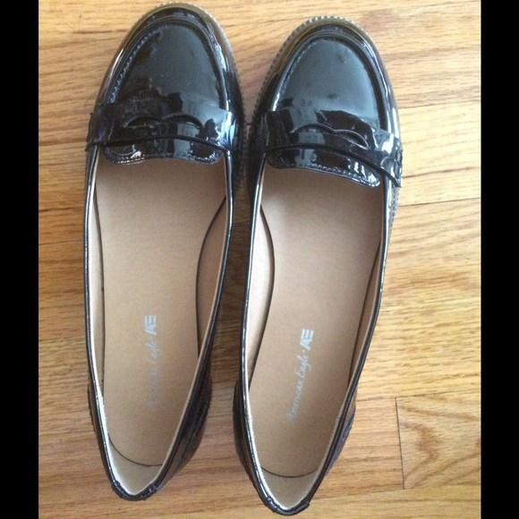 e9fdee160d5 American Eagle by Payless Shoes - Menswear inspired Black patent loafers