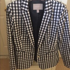 Banana Republic gingham jacket
