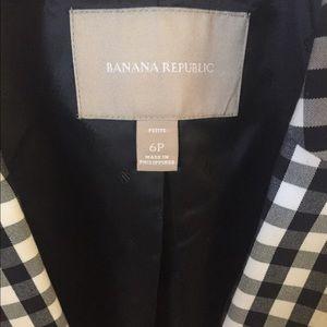 Banana Republic Jackets & Coats - Banana Republic gingham jacket