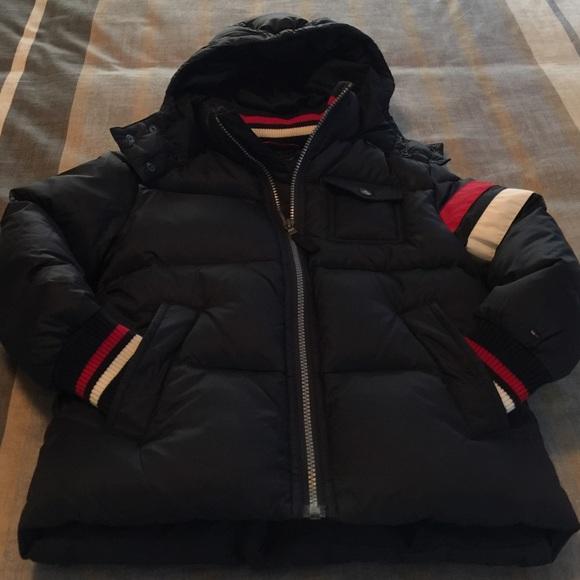 14c132b8 ⛄️Tommy Hilfiger Boys Down Jacket, size XS or 4-5.  M_581e441c8f0fc4c21e03df29