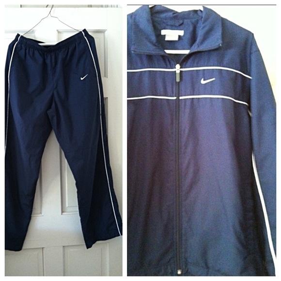 Blue Outfit Pants Poshmark Navy Nike Sweat wFTEqUz
