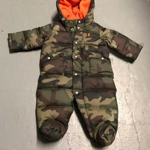 Ralph Lauren Other - Ralph Lauren camo snowsuit 3M