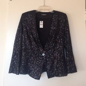 Express Jackets & Blazers - Sequined jacket