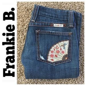 DISTRESSED Frankie B. rn#103390 denim size 0