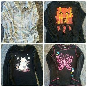 Other - Girls bundle of long sleeve shirts