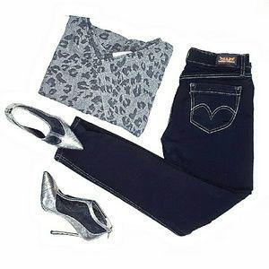 Levi's Denim - 🏮LEVIS 524 Too Super Low Skinny Jeans Black