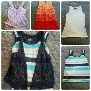 Other - Bundle of girls tank tops