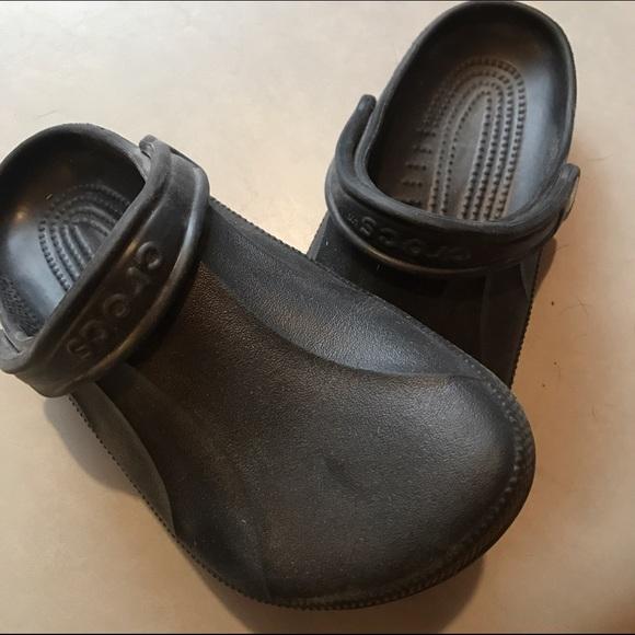 0cb3b042d239 CROCS Shoes - Black Crocs - Size 9 Women s or Size 7 Men s