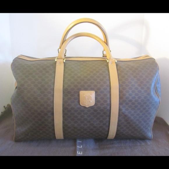 Celine Handbags - Authentic Celine Boston Bag Travel Duffle SALE! 8b3557155f
