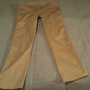RED Valentino Pants - Red Valentino khaki pants