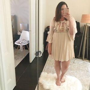 Easel Dresses & Skirts - Embroidered Boho Style Dress