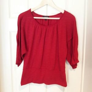 A. Byer  Tops - A. Byer - red blouse