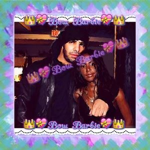 Drakes Other - 💞💙 Aaliyah & Drake Custom Design Wall Print 💙💞