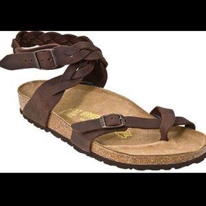 cb01411097f3 Birkenstock Shoes - 💗HTF BIRKENSTOCK YARA BRAIDED SANDALS 38💗