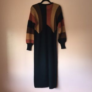 Yves Saint Laurent Dresses - Vintage Yves Saint Laurent Mohair Sweater Dress
