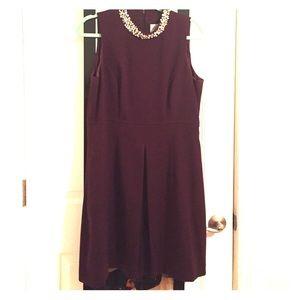 Eliza J Dresses & Skirts - Embellished neckline Eliza J dress