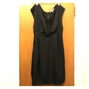 BCBGeneration Black lace back dress