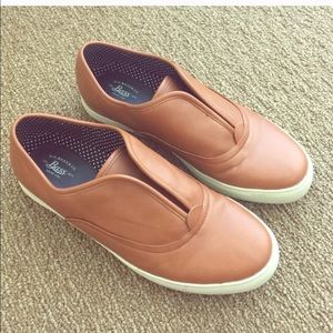 Bass Shoes - Bass slip on leather loafer sneakers