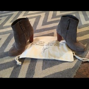 Joie Shoes - SOLD ON ANOTHERSITE Joie Dalton Suede Booties