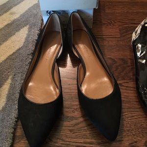 Banana Republic Shoes - Banana Republic black calf hair flats