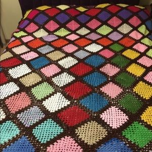 Other - Handmade queen sized crochet blanket