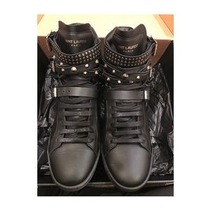 Saint Laurent Shoes - Saint Laurent (YSL) Sneaker - studs, leather