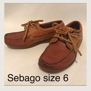 Sebago Shoes - SEBAGO Women's Dockside Boatshoes Size 6