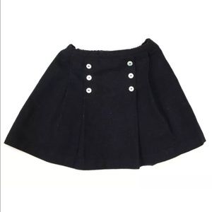 Best & Co. Girl's Navy Blue Pleated Skirt