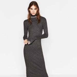 Zara Midi Bodycon Stretch Dress