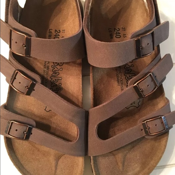 b92681742c8 Birkenstock Shoes - Birkis 3 Strap Sandals Size 6 Women Birkenstock