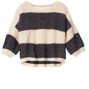 Chunky Knit Stripped Sweater