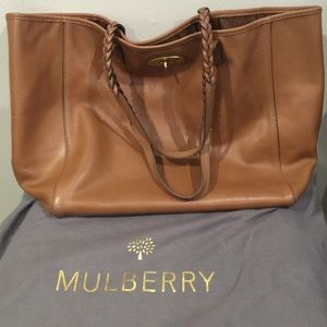 75d2d7a31730 ... sale mulberry bags brown leather mulberry dorset tote bag. 3c99c b602e