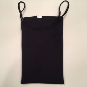 One size black cami NWOT