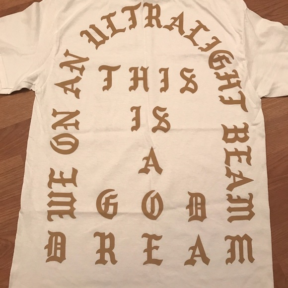 White Yeezus Skeleton Rose Grim Reaper I Feel Like Pablo Pop UP Kanye T-Shirt