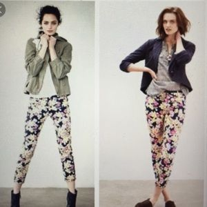 Pre❤️ Anthropologie Floral Charlie Trousers