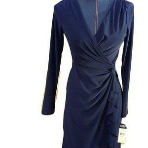 Chaps Dresses & Skirts - 🏮NWT Ralph Laurens CHAPS Faux Wrap Dress