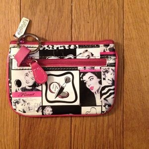 1950's Pinup Coin Purse 3 Compartments