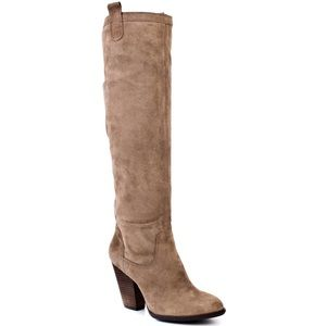 Braden Boot Vince Camuto suede taupe