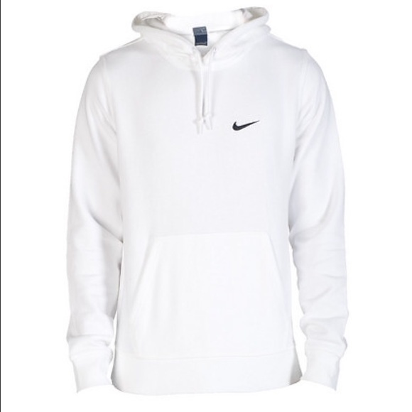 42% off Nike Other - White nike sweatshirt hoodie black check from ...