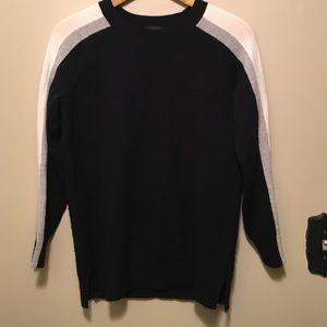 J. Crew Other - J Crew S Merino Wool blue long sleeve sweater
