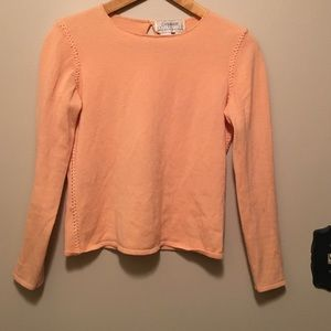 Saks Fifth Avenue Sweaters - Saks Fifth Avenue 100% cashmere sweater M peach